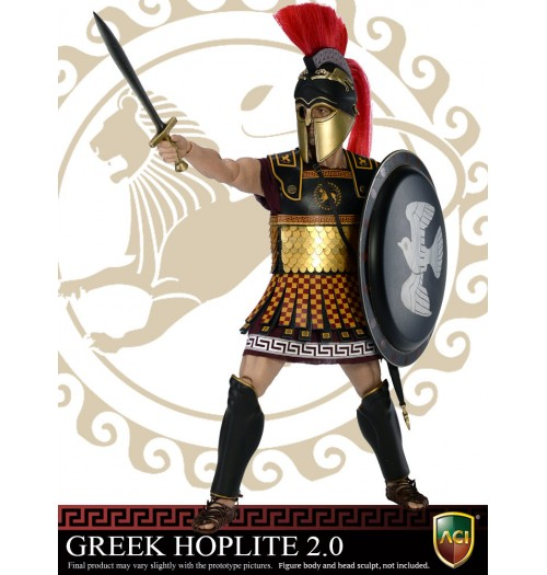 ACI TOYS 1/6 Greek Hoplite 2.0 Power Set - Version C (ACI772C)
